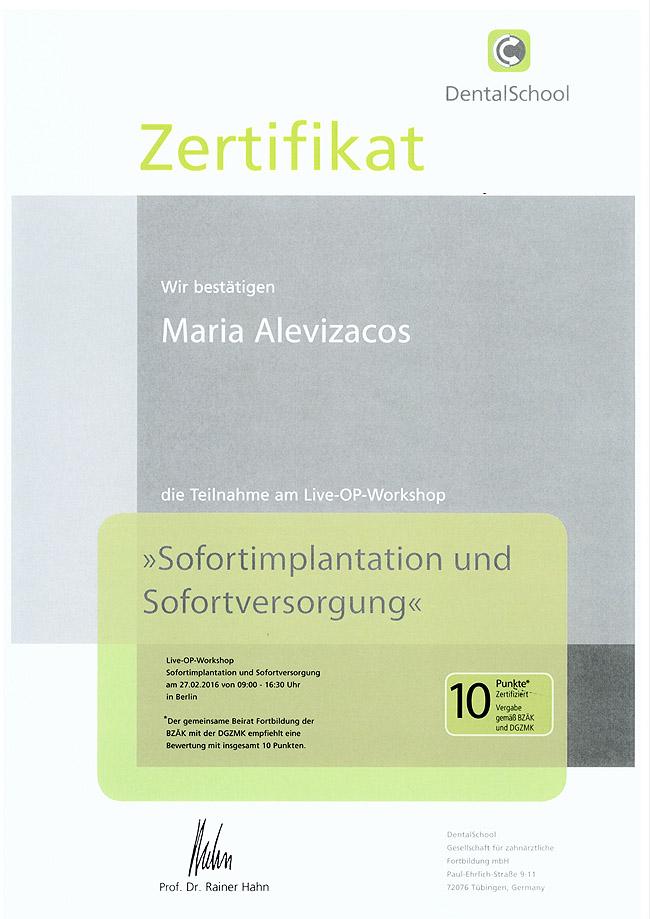zahnarztpraxis-spezial.de | Zertifikate - zahnarztpraxis-spezial.de