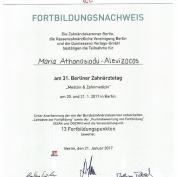 fortbildungsnachweis-zahnarzt-berlin-charlottenburg